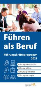 Cover Führen als Beruf - Führungskräfteprogramm 2021
